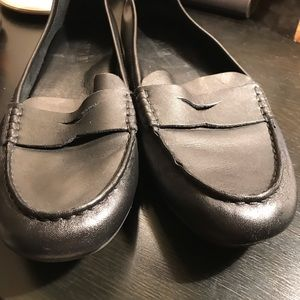 Born Shoes - Born Malena Black Leather Driving Shoes Loafers 9